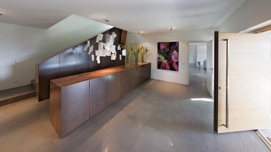 designer villa in graz mit edlen glas und fenster l sungen hessl. Black Bedroom Furniture Sets. Home Design Ideas