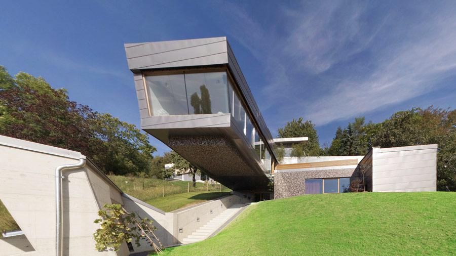 Designer Villa in Graz mit edlen Glas und Fenster Lösungen - HESSL