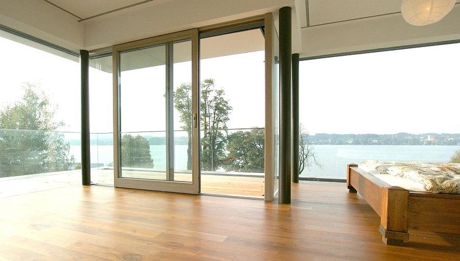glasschiebet ren verk rpern grenzenlose freie architektur hessl. Black Bedroom Furniture Sets. Home Design Ideas