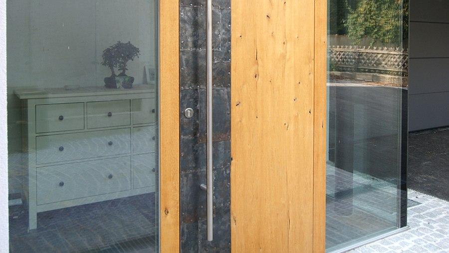 Eingangstüren modern holz  Holztüren, Massivholztüren wie z.B. Haustüren aus Holz für höchste ...