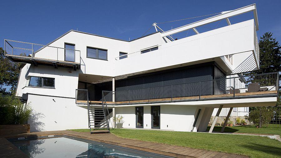 Architektenhaus mit Pool in Niederösterreich - HESSL