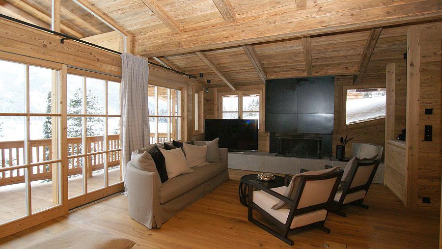 Gartenhaus Altholz luxus chalet in kitzbühel mit hessl holzfenster ausgestattet hessl