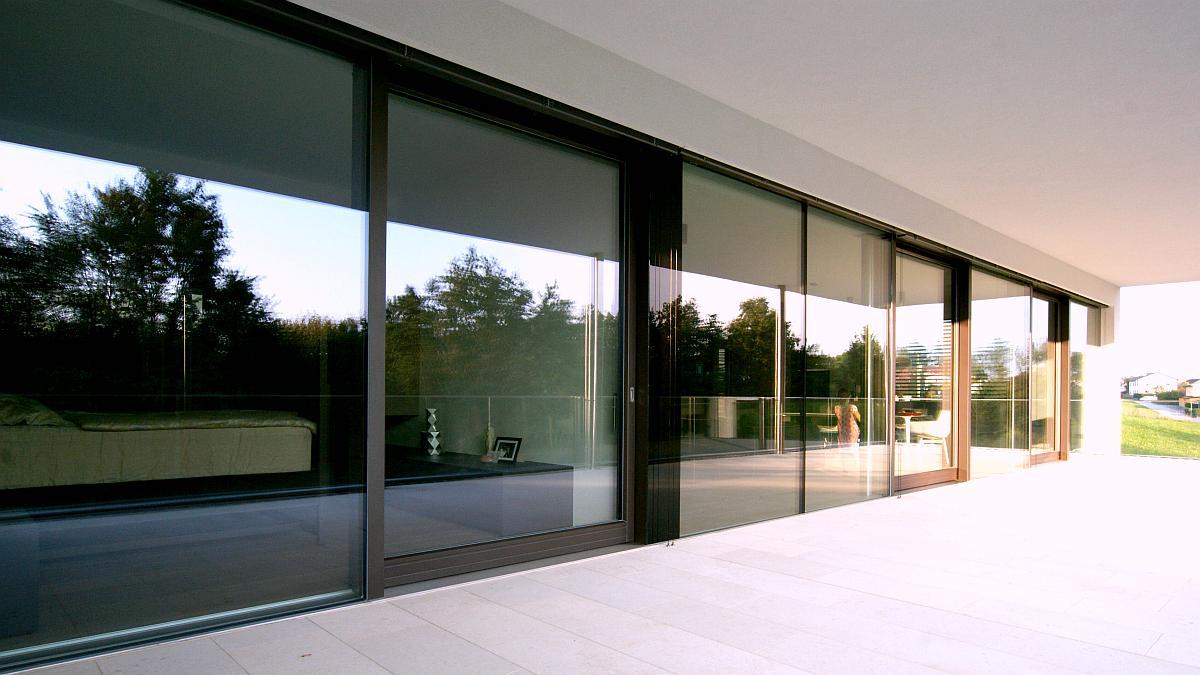 moderne architektur einfamilienhaus in ober sterreich hessl. Black Bedroom Furniture Sets. Home Design Ideas